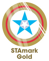 STAmark Badge Gold
