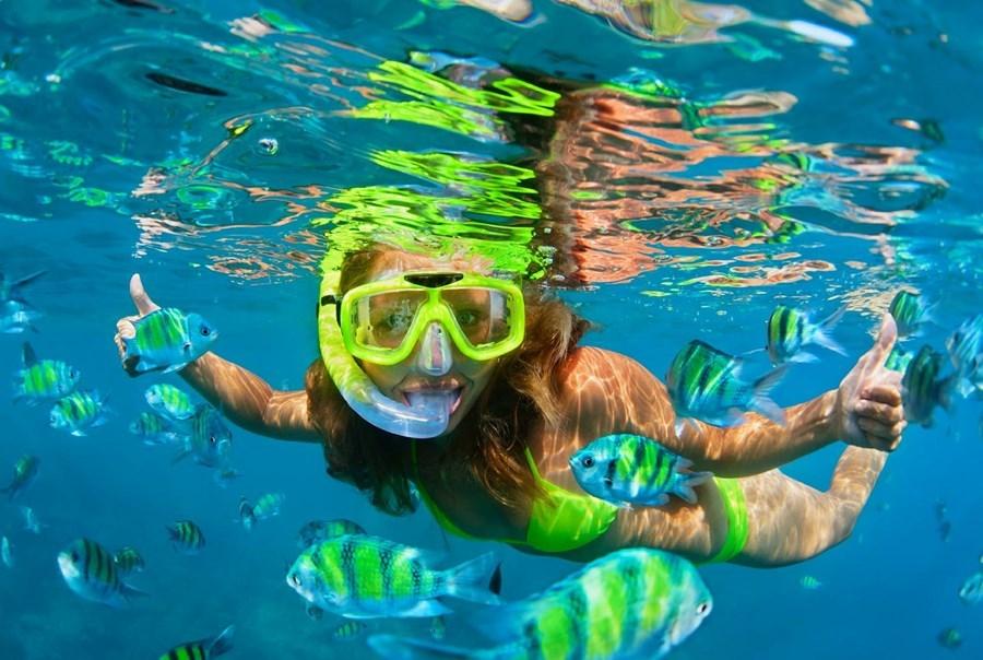 Pool Snorkelling